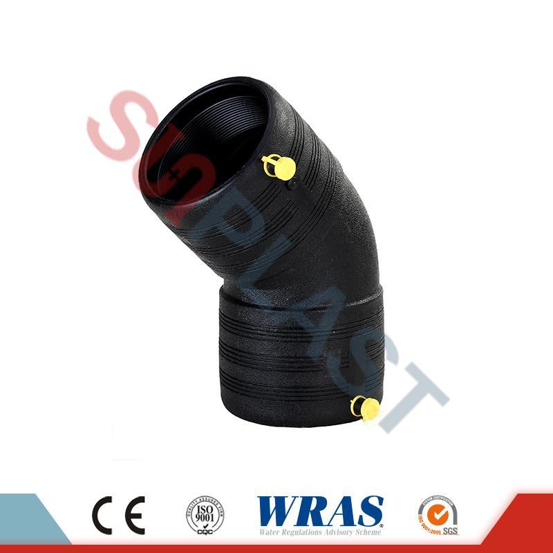 HDPE Electrofusion 45 kraadi küünarnukk