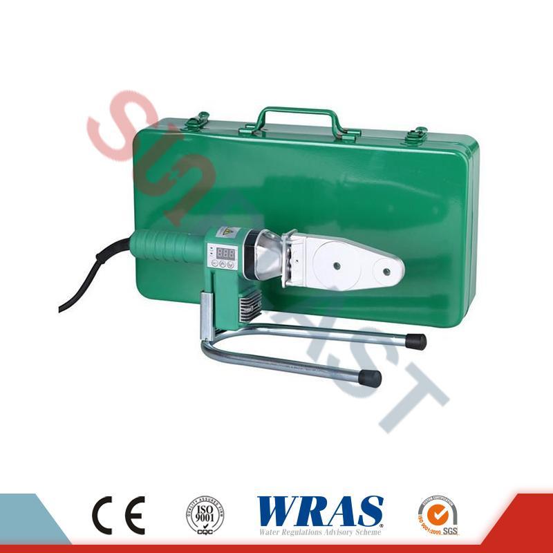 20-63 mm Socket Fusion-keevitusseade PPR-toru jaoks ja HDPE toru