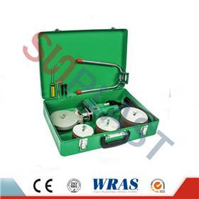 75-110 mm Socket Fusion-keevitusseade PPR-toru jaoks ja HDPE toru
