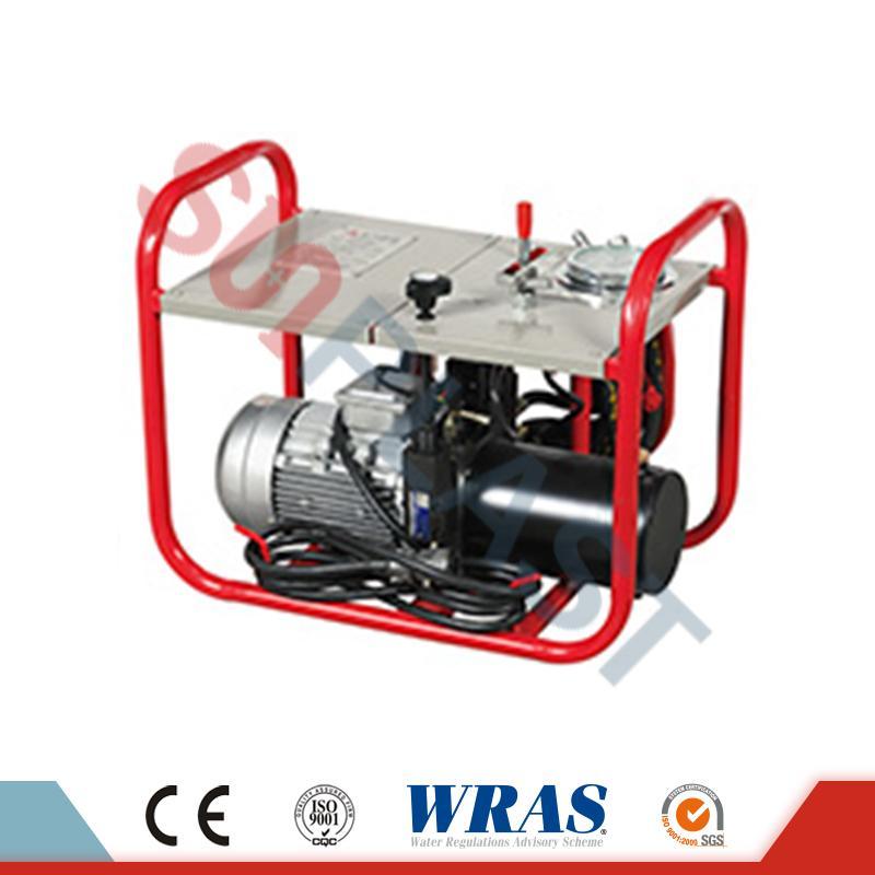 63-200 mm manuaalne / hüdrauliline Butt fusion-keevitusseade HDPE toru jaoks