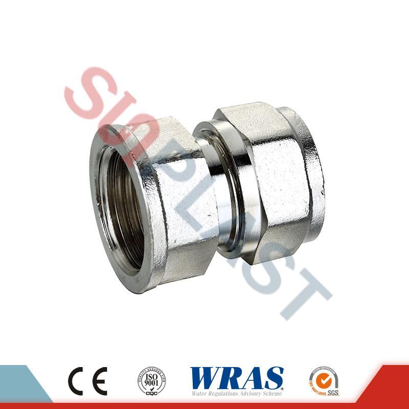 Brass-survetugevuse ühendamine PEX-AL-PEX mitmekihilise toru jaoks